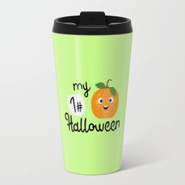 My First Halloween Pumpkin T-Shirt Dtupp Travel Mug