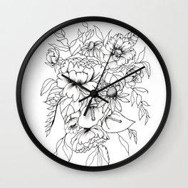 Botanical Bouquet Wall Clock