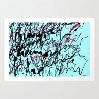 champagne Art Prints featuring champagne by austeja saffron