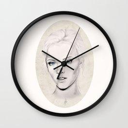 Portrait 2 Wall Clock