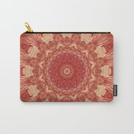 Mandala Flower red Carry-All Pouch