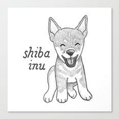 Dog Breeds: Shiba Inu Canvas Print