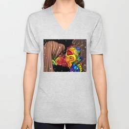 Love With No Boundaries Unisex V-Neck