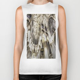 Cathedral Architecture Art Biker Tank