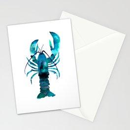 Blue Lobster Stationery Cards