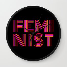 FEM·I·NIST Wall Clock