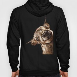 Sneaky Highland Cow Hoody