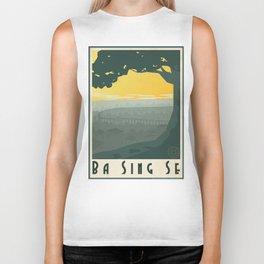 Ba Sing Se Travel Poster Biker Tank