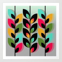 Joyful Plants III Art Print
