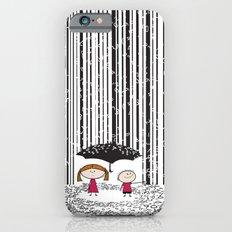 Raining numbers barcode Slim Case iPhone 6s