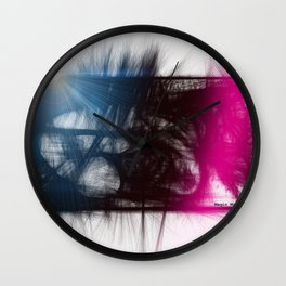 Bright Light Wall Clock