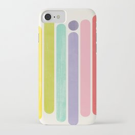 Rainbow Color Stripes iPhone Case