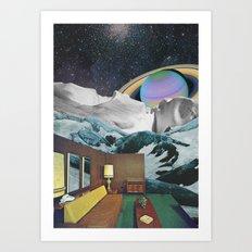 Infinite room Art Print