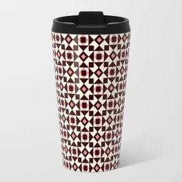 Azulejo Brown Travel Mug