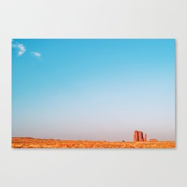 Rising - Monument Valley Canvas Print