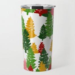 Scribble Trees Travel Mug