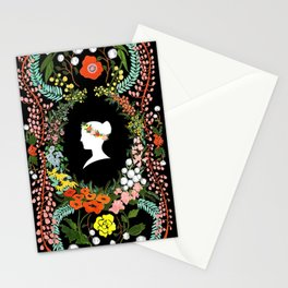 Language of Flowers  Stationery Cards