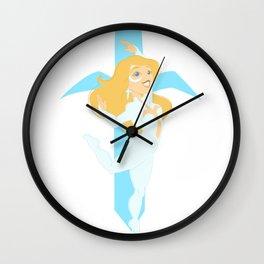 The Dancing Weapon Wall Clock