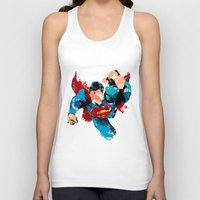 hero Tank Tops featuring HERO by ALmighty1080