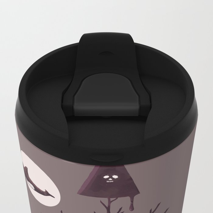 Darkly Dreaming Metal Travel Mug