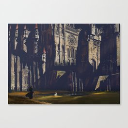 Whitestone Castle Canvas Print