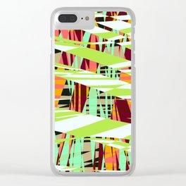 xyz 6b 1b Clear iPhone Case