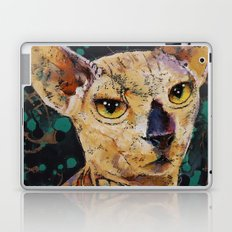 Tattooed Sphynx Laptop & iPad Skin