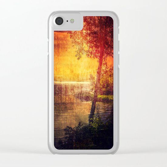 It's Too Late Clear iPhone Case