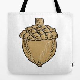 Acorn Drawing Tote Bag