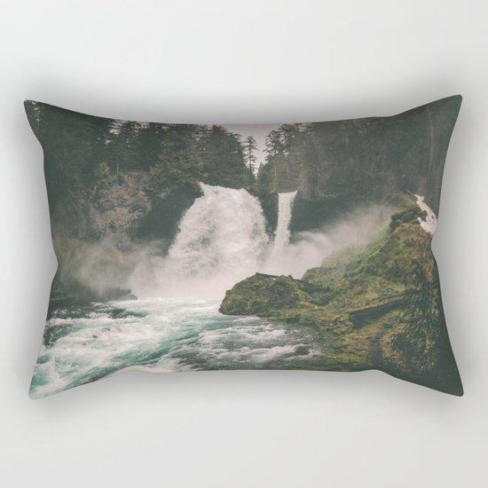 Sahalie Falls Rectangular Pillow