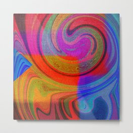 vortices of colors Metal Print