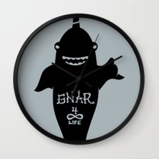 GNARWHAL Wall Clock