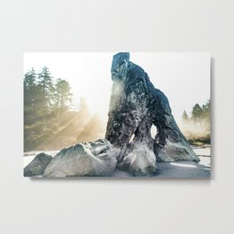Protector Of Ruby Beach Metal Print