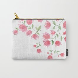 Bougainvillea Blossoms Carry-All Pouch