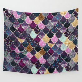 REALLY MERMAID - JEWEL SCALES Wall Tapestry