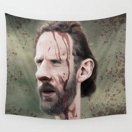 Rick Grimes Wall Tapestry