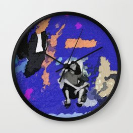 Steinem's Forms Wall Clock