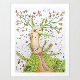 Forest's hear Art Print