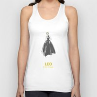 leo Tank Tops featuring Leo by Cansu Girgin