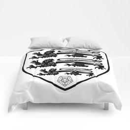 British Three Lions Crest Comforters