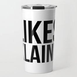 Likes Klaine Travel Mug