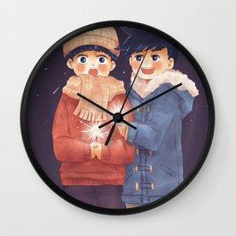 Esper Brothers Wall Clock