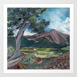Red Hill Views Art Print