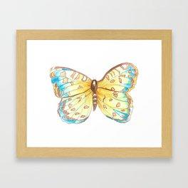 Nana's Butterlfy Framed Art Print