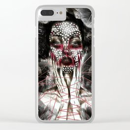 Black Siren Clear iPhone Case