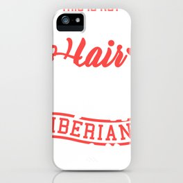 Horse Saying IBERIAN Horse Girls Gift iPhone Case