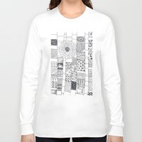 calendar Long Sleeve T-shirts featuring Bloom Calendar by sinonelineman