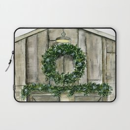 Winter Barn Laptop Sleeve