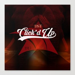 DST Clicked Up Canvas Print