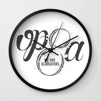 scandal Wall Clocks featuring Scandal - Olivia Pope & Associates by leftyprints